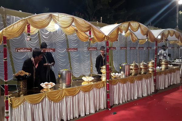 Catering Service for Marriage