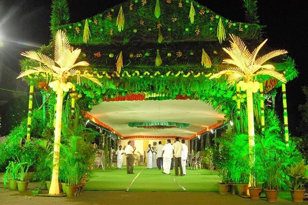 Marriage Decoration Services in Coimbatore
