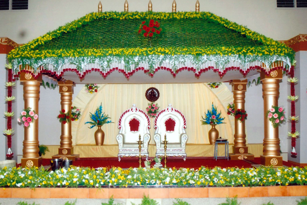 Marriage Reception Decoration in Coimbatore